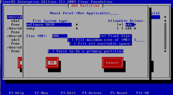 https://clearos.com/dokuwiki2/lib/exe/fetch.php?w=350&tok=7174cf&media=omedia:ss_anaconda_raid1-drive1-boot.png