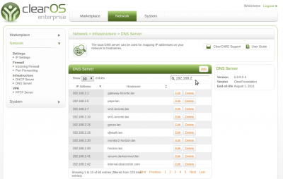 ClearOS Enterprise 6.1.0 Alpha 1