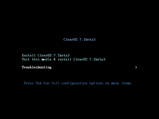 https://clearos.com/dokuwiki2/lib/exe/fetch.php?w=550&tok=fbe560&media=content:en_us:7_install_media_first_screen_beta3_troubleshooting_selected.png
