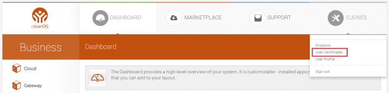 User Certificates