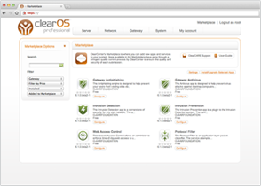 ClearOS – OS for your Server, Network, and Gateway Systems