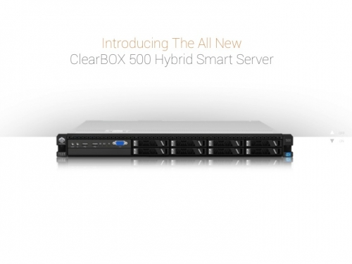 Introducing The All New ClearBOX 500 Series Hybrid Smart Server